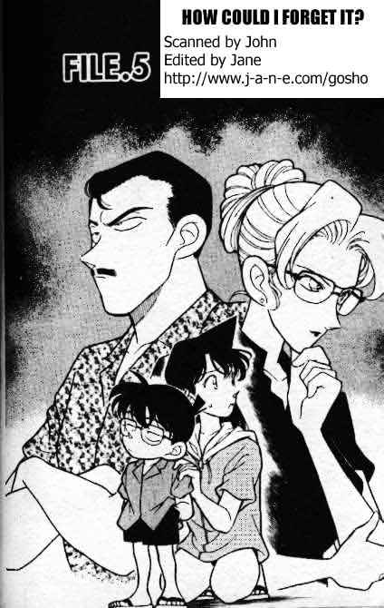 Detective Conan Chapter 165  Online Free Manga Read Image 1