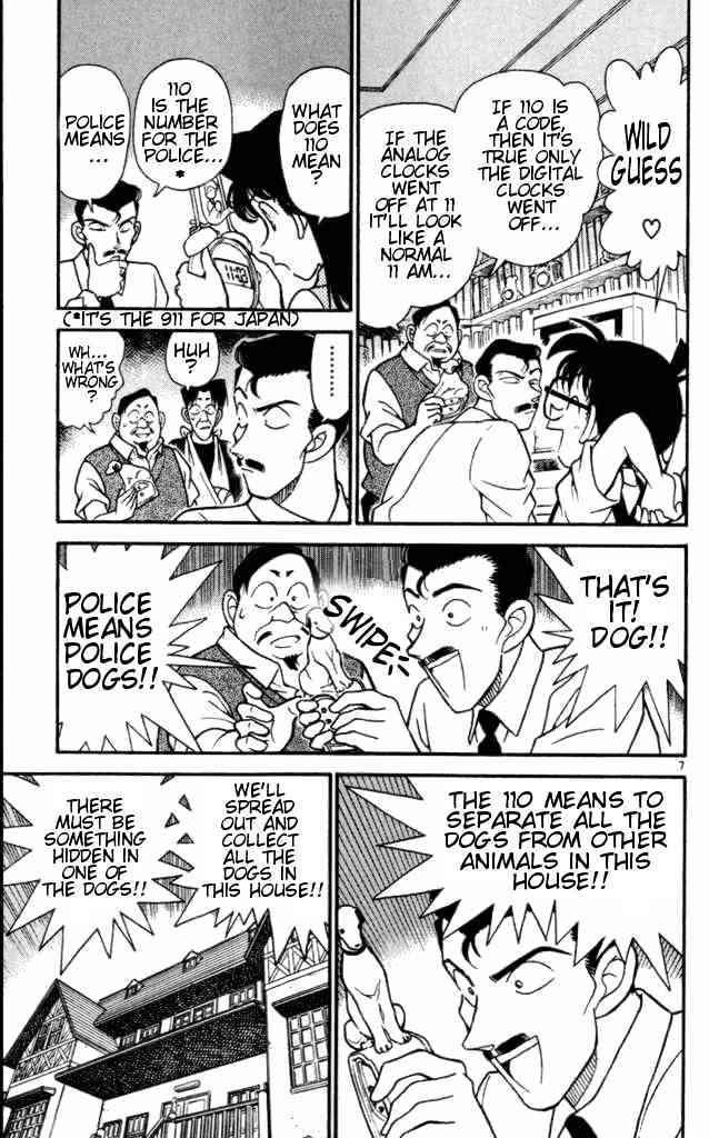 Detective Conan Chapter 168  Online Free Manga Read Image 7