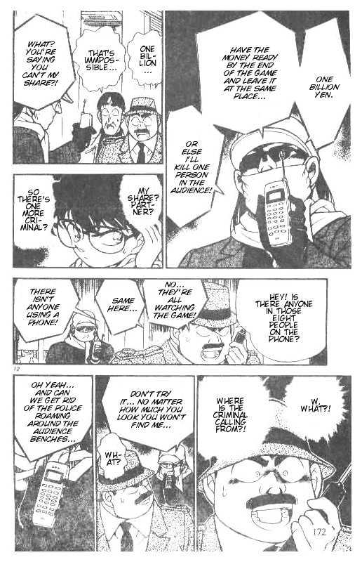 Detective Conan Chapter 190  Online Free Manga Read Image 12