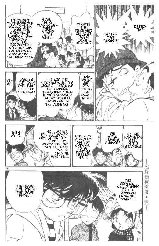 Detective Conan Chapter 190  Online Free Manga Read Image 16