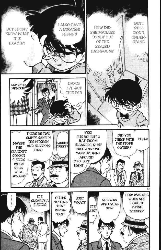 Detective Conan Chapter 198  Online Free Manga Read Image 13