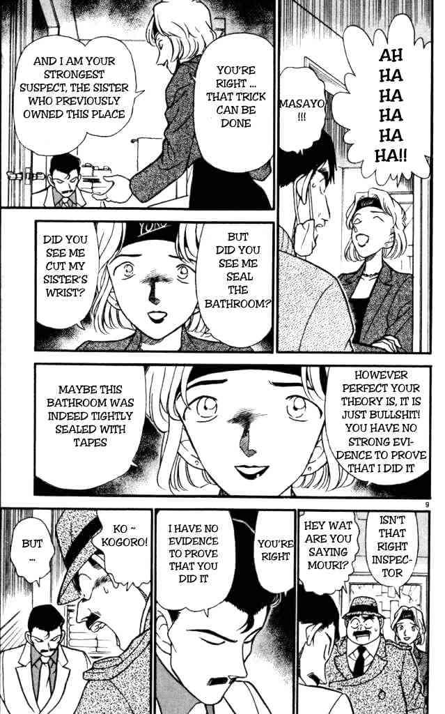 Detective Conan Chapter 199  Online Free Manga Read Image 9