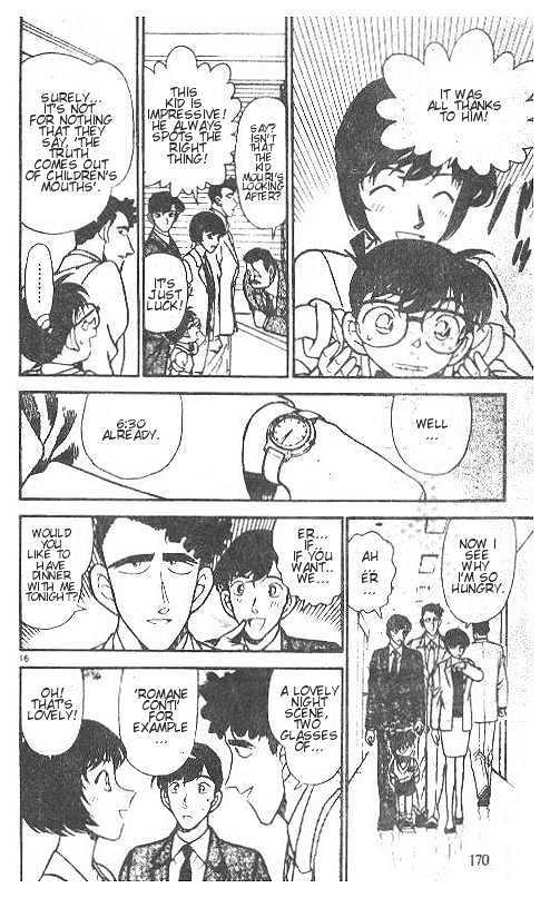Detective Conan Chapter 210  Online Free Manga Read Image 16