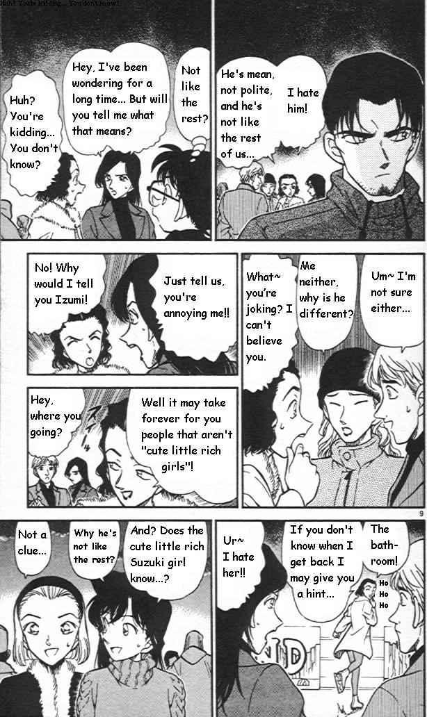 Detective Conan Chapter 243  Online Free Manga Read Image 9