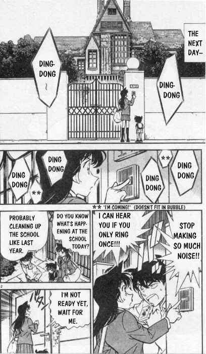 Detective Conan Chapter 258  Online Free Manga Read Image 2