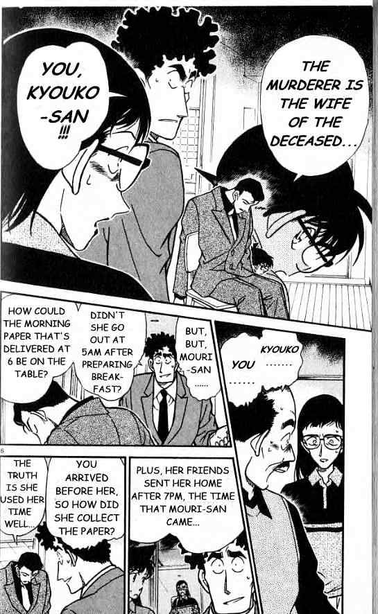 Detective Conan Chapter 278  Online Free Manga Read Image 6