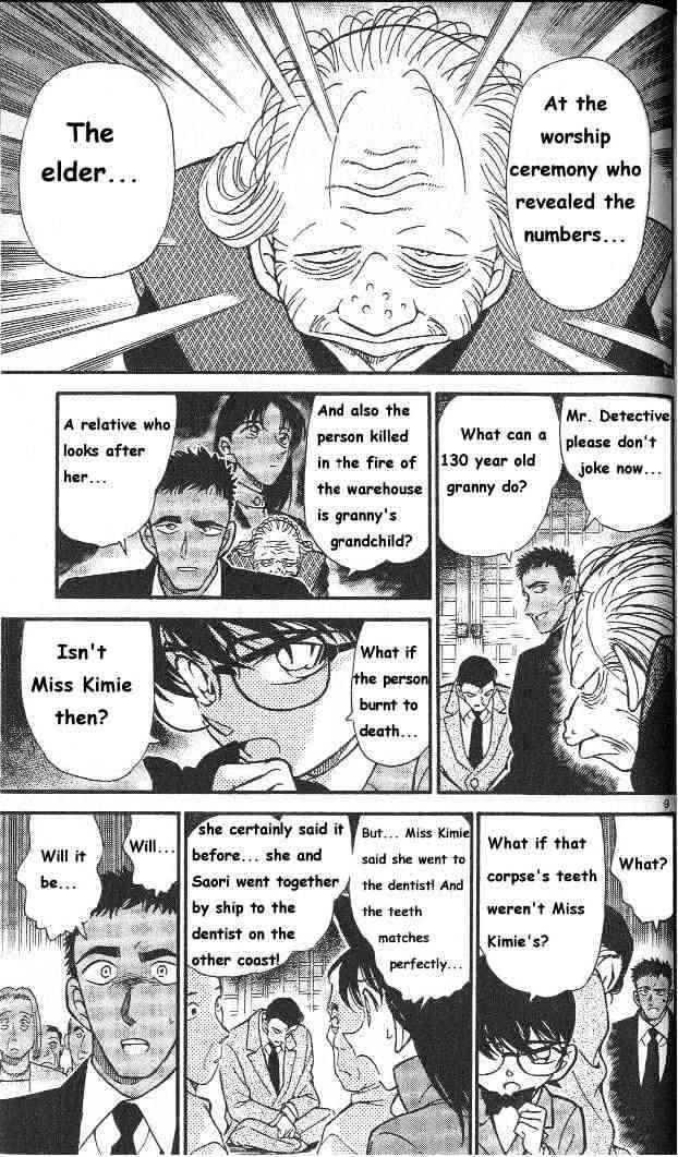 Detective Conan Chapter 283  Online Free Manga Read Image 9