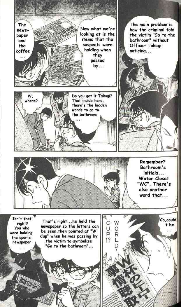Detective Conan Chapter 298  Online Free Manga Read Image 5
