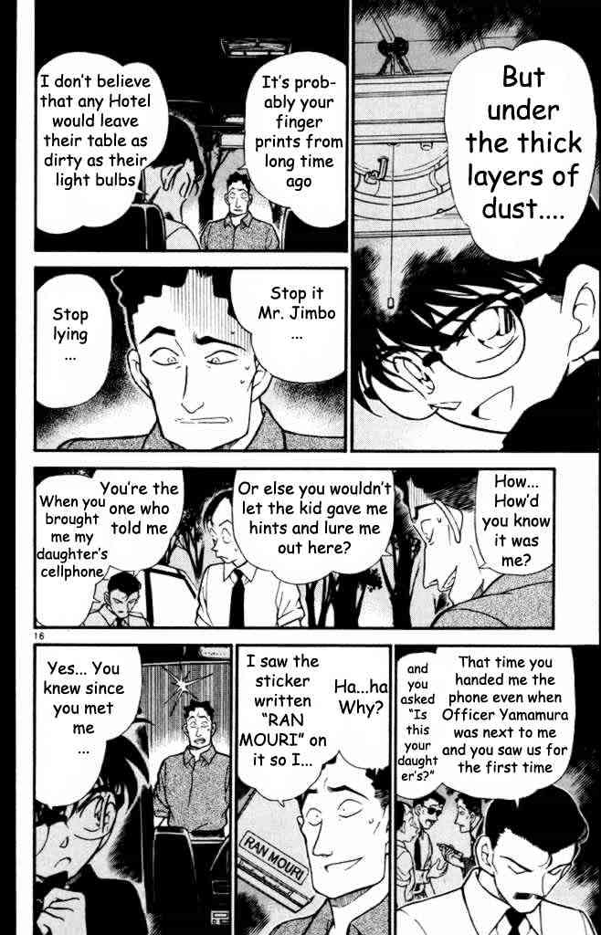 Detective Conan Chapter 310  Online Free Manga Read Image 16