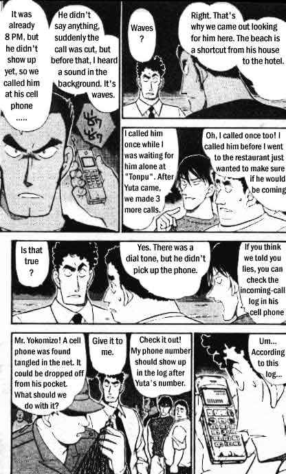 Detective Conan Chapter 312  Online Free Manga Read Image 6