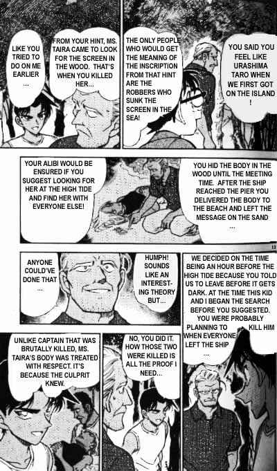Detective Conan Chapter 365  Online Free Manga Read Image 13
