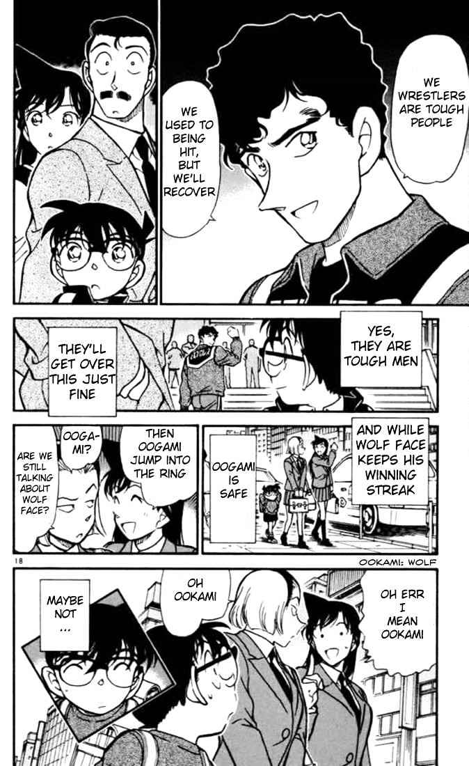 Detective Conan Chapter 389  Online Free Manga Read Image 18
