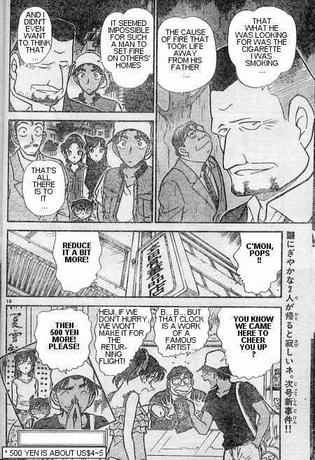 Detective Conan Chapter 397  Online Free Manga Read Image 18