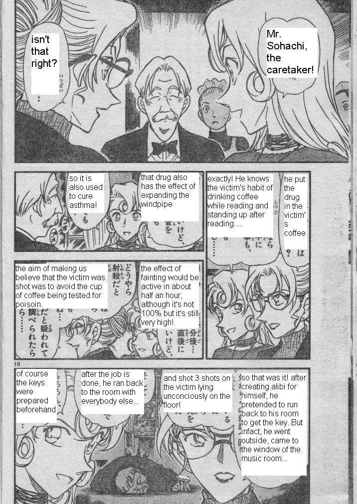 Detective Conan Chapter 416  Online Free Manga Read Image 10