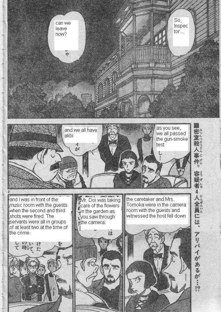 Detective Conan Chapter 416  Online Free Manga Read Image 2