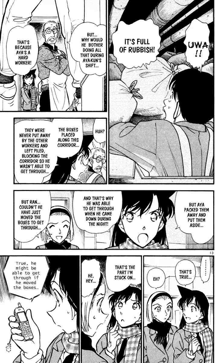 Detective Conan Chapter 428  Online Free Manga Read Image 13