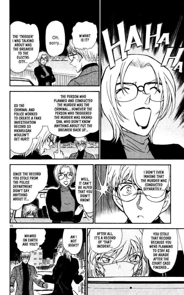 Detective Conan Chapter 432  Online Free Manga Read Image 16