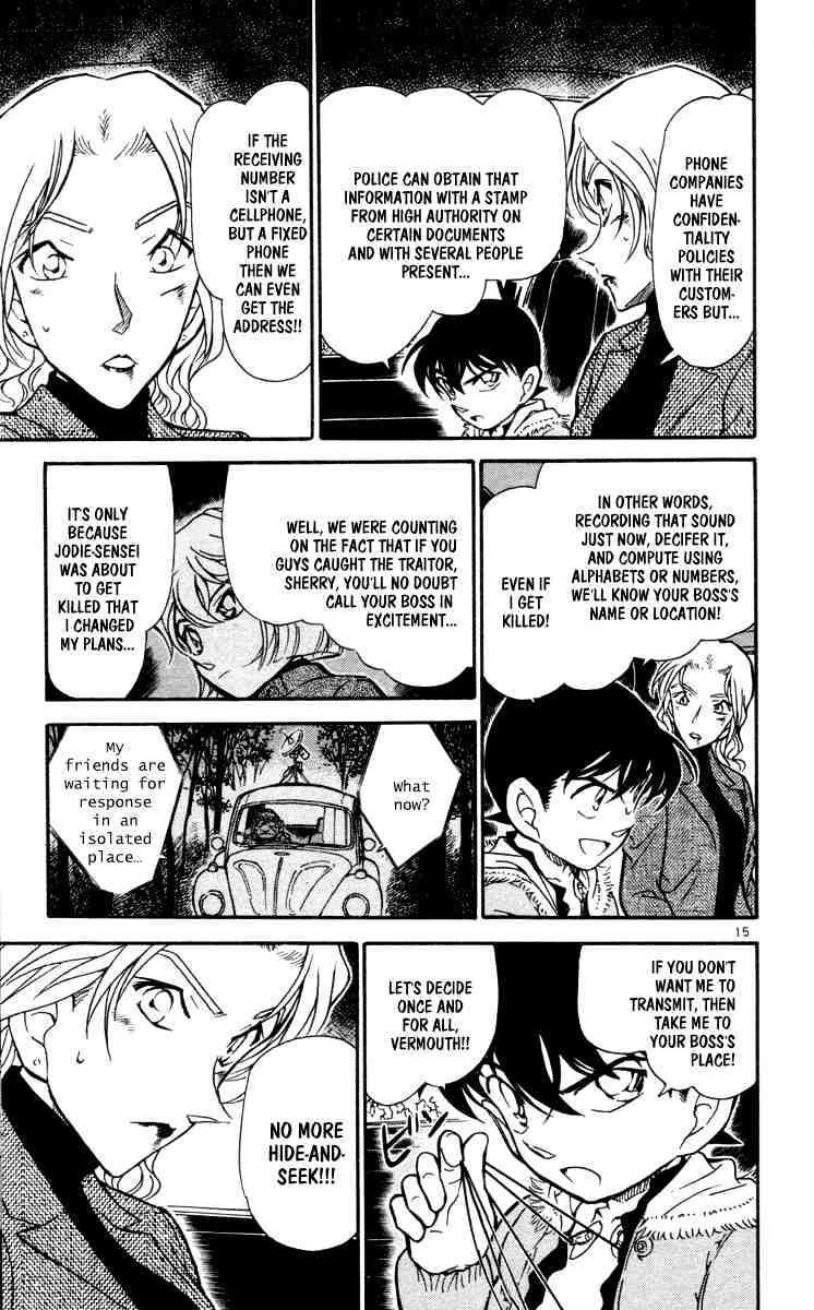 Detective Conan Chapter 434  Online Free Manga Read Image 15