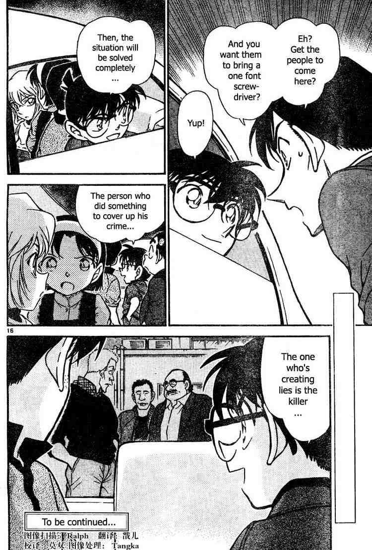 Detective Conan Chapter 436  Online Free Manga Read Image 16