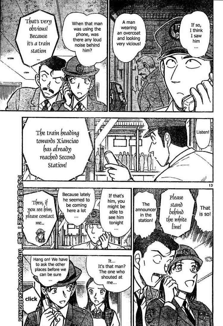 Detective Conan Chapter 439  Online Free Manga Read Image 13