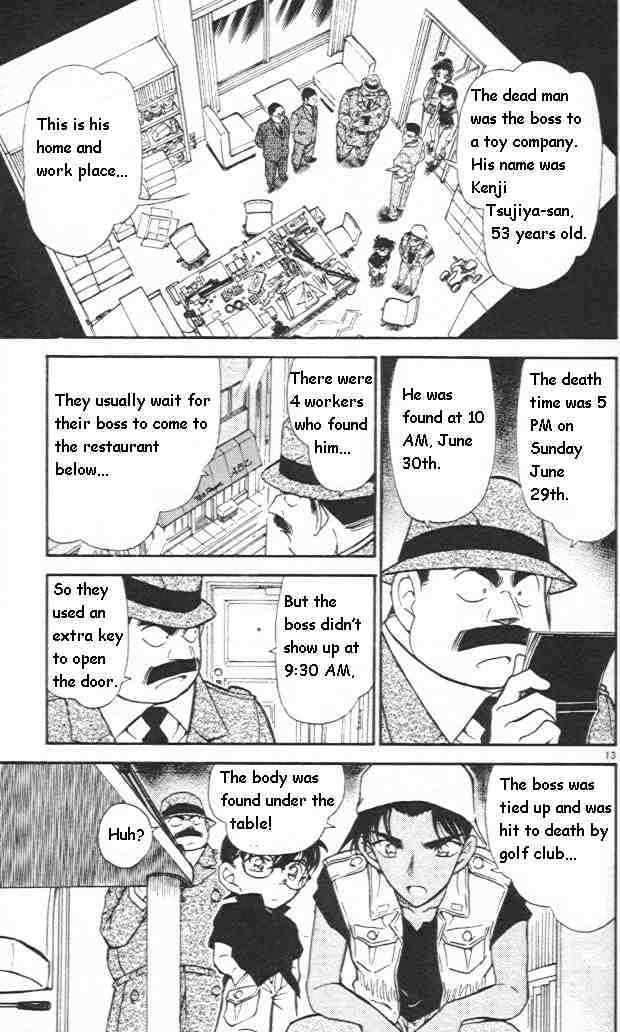 Detective Conan Chapter 441  Online Free Manga Read Image 13