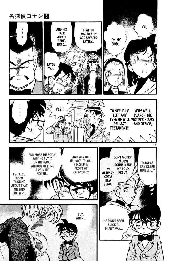 Detective Conan Chapter 46  Online Free Manga Read Image 13