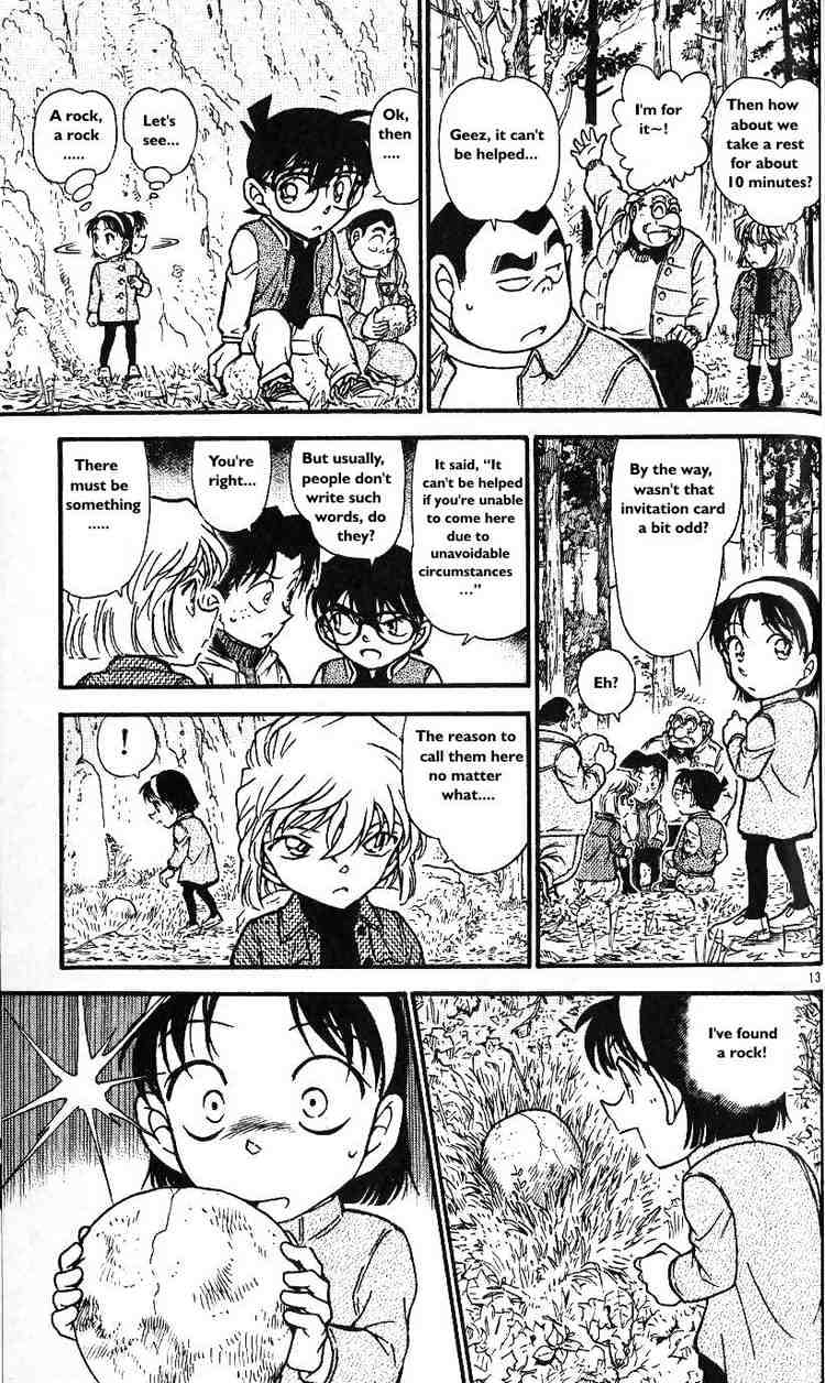 Detective Conan Chapter 466  Online Free Manga Read Image 13