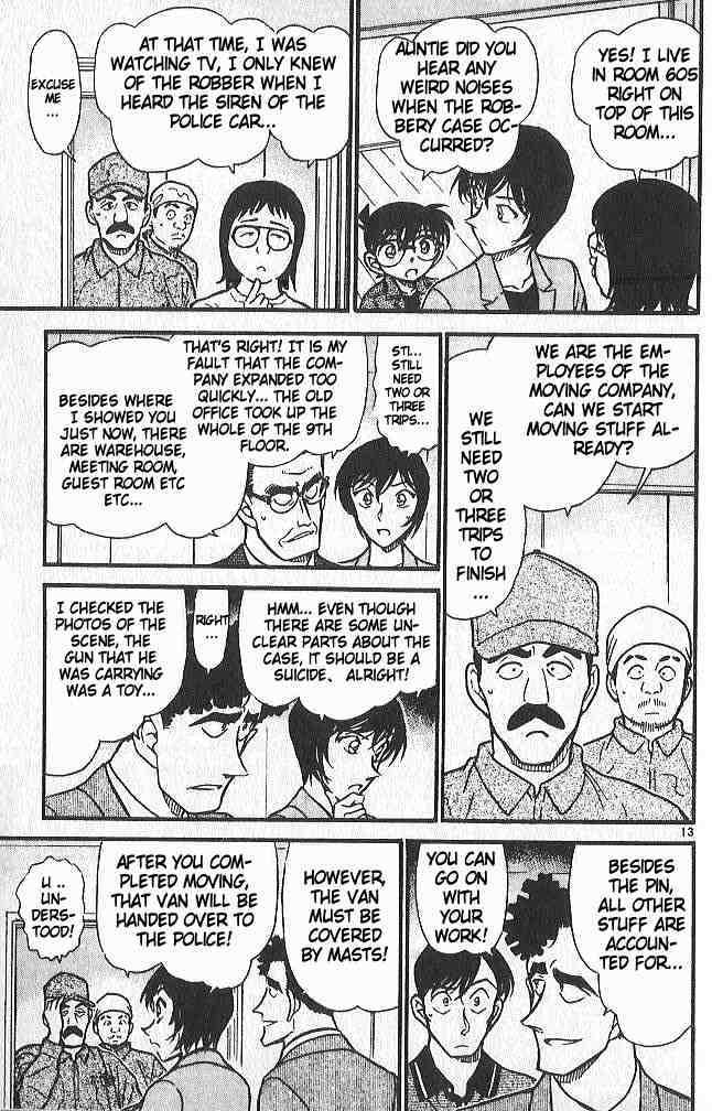Detective Conan Chapter 485  Online Free Manga Read Image 13