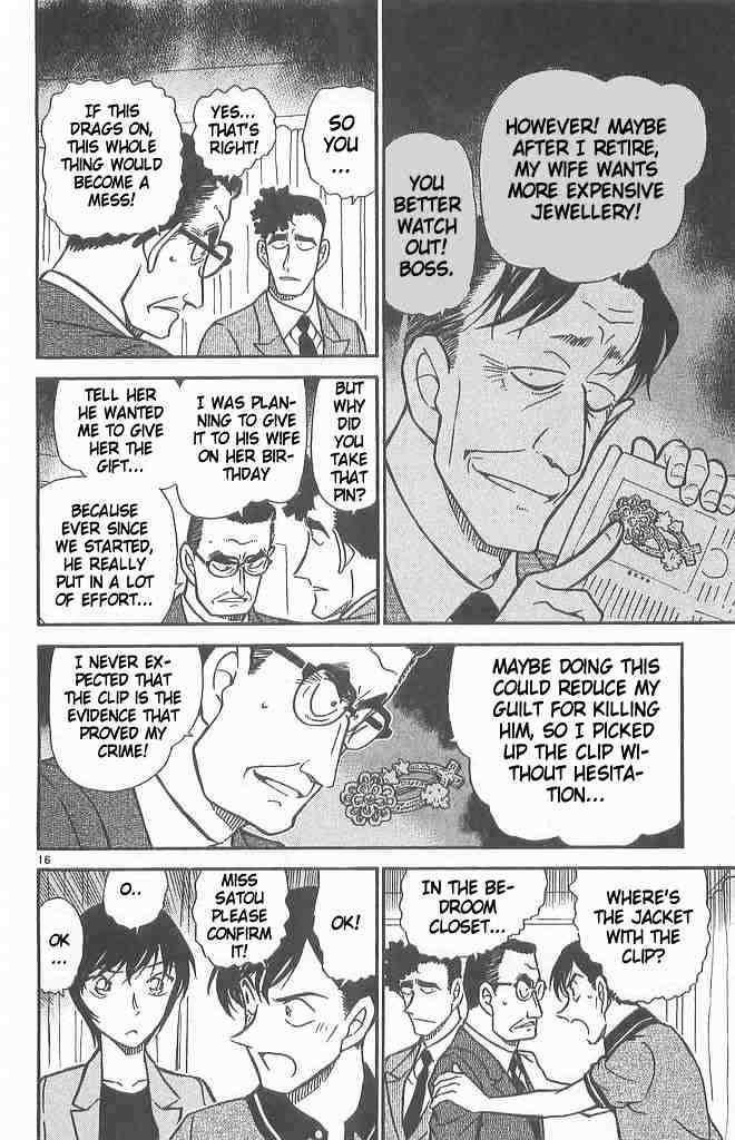 Detective Conan Chapter 486  Online Free Manga Read Image 16