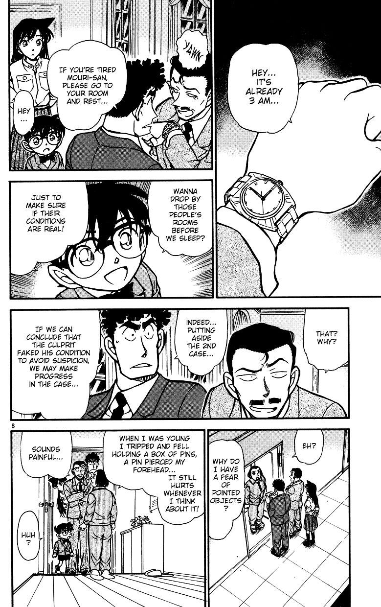 Detective Conan Chapter 497  Online Free Manga Read Image 8
