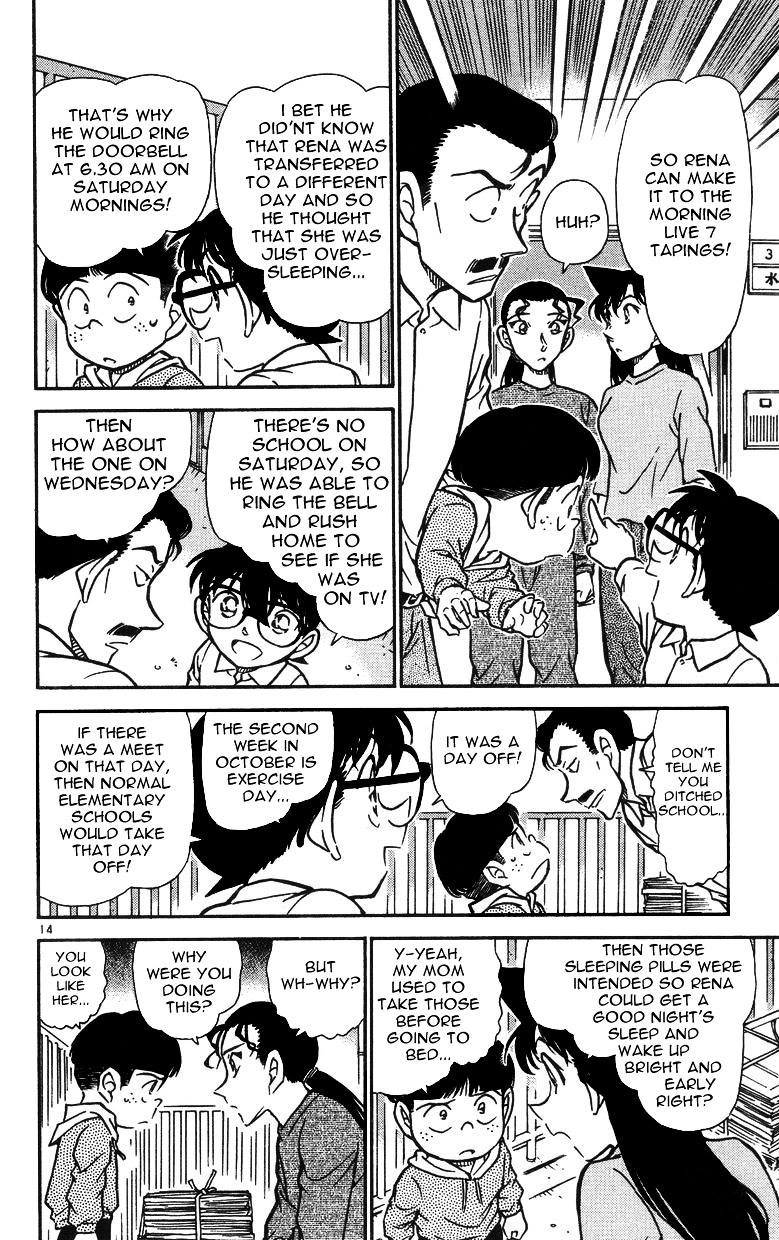 Detective Conan Chapter 499  Online Free Manga Read Image 14