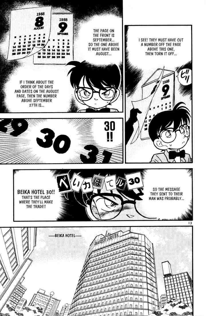 Detective Conan Chapter 50  Online Free Manga Read Image 13