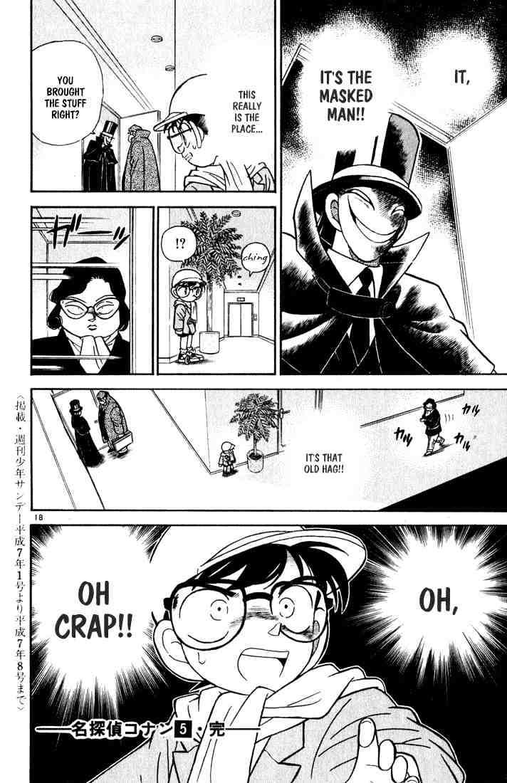 Detective Conan Chapter 50  Online Free Manga Read Image 18