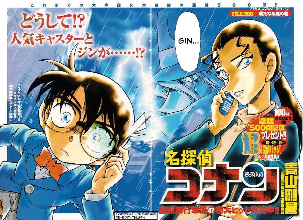 Detective Conan Chapter 500  Online Free Manga Read Image 2