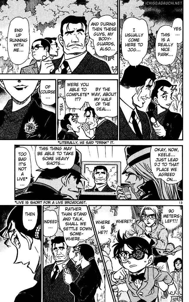 Detective Conan Chapter 501  Online Free Manga Read Image 13