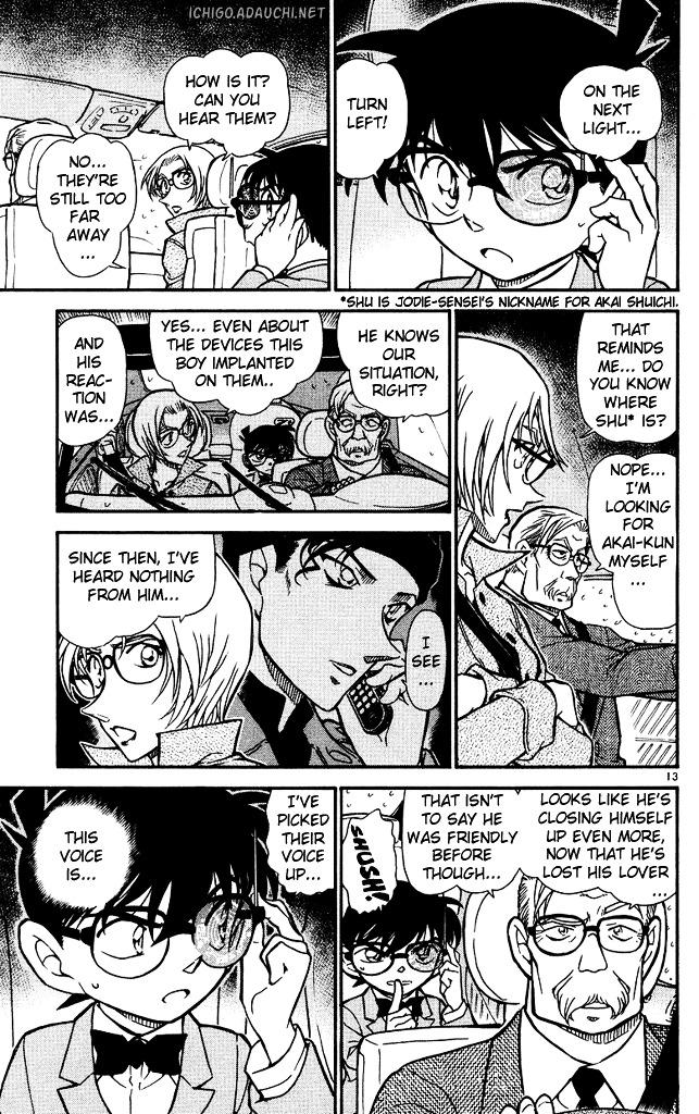 Detective Conan Chapter 502  Online Free Manga Read Image 13