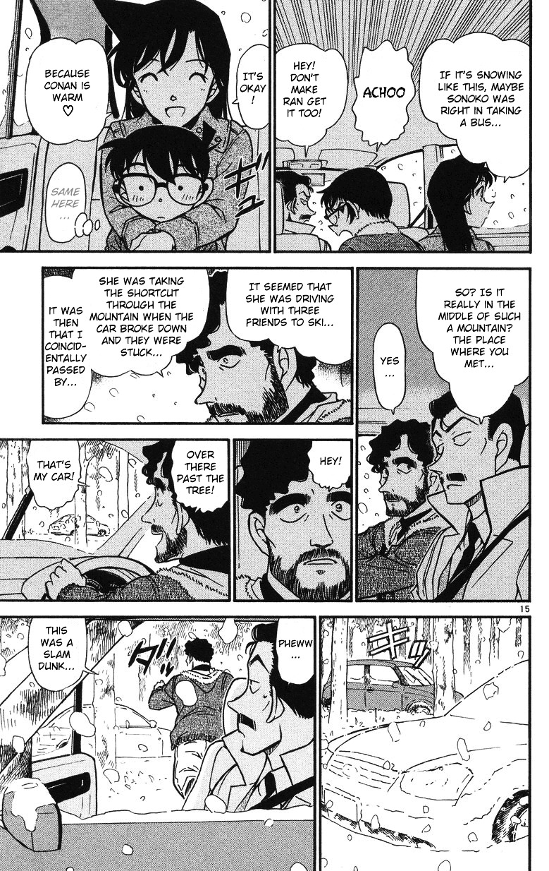 Detective Conan Chapter 508  Online Free Manga Read Image 15