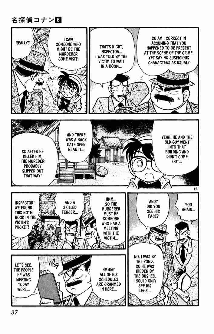 Detective Conan Chapter 52  Online Free Manga Read Image 14