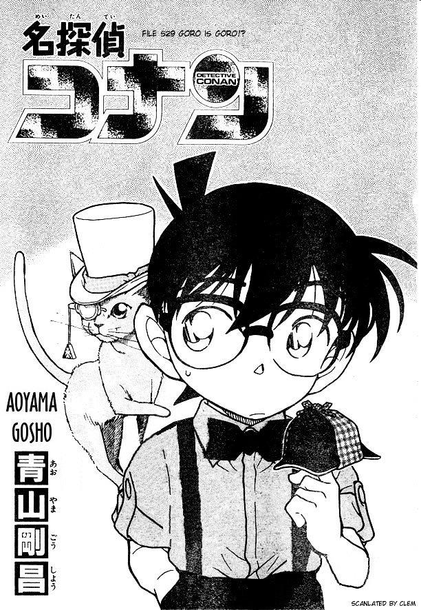 Detective Conan Chapter 529  Online Free Manga Read Image 1