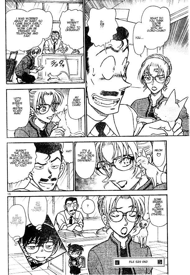 Detective Conan Chapter 529  Online Free Manga Read Image 16