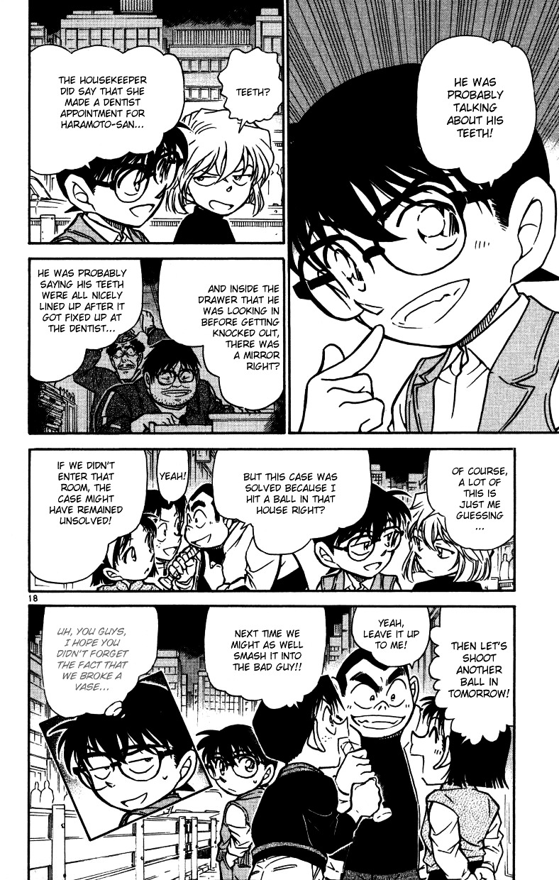 Detective Conan Chapter 540  Online Free Manga Read Image 18