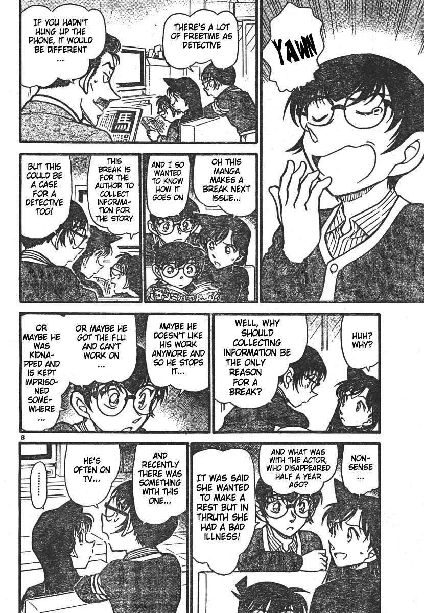 Detective Conan Chapter 550  Online Free Manga Read Image 8