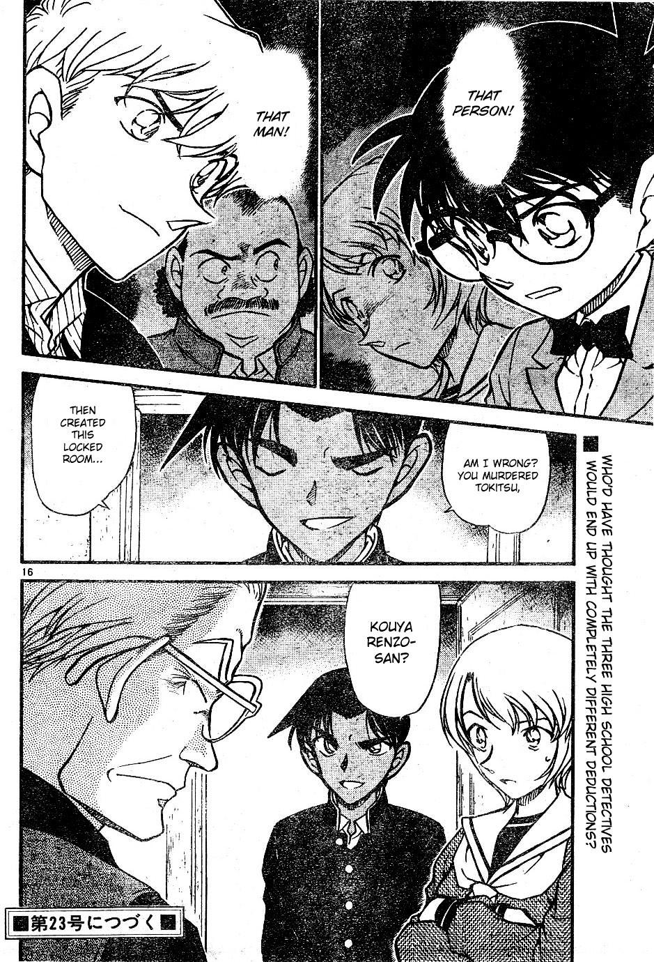 Detective Conan Chapter 565  Online Free Manga Read Image 16