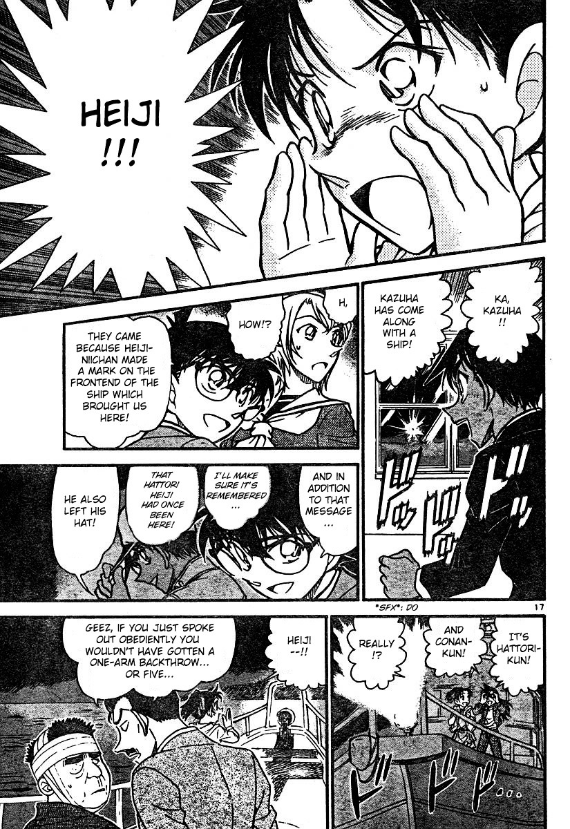 Detective Conan Chapter 566  Online Free Manga Read Image 17