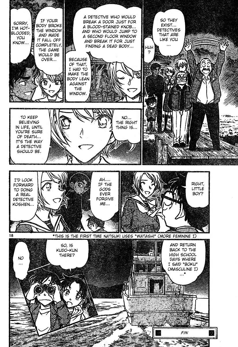 Detective Conan Chapter 566  Online Free Manga Read Image 18
