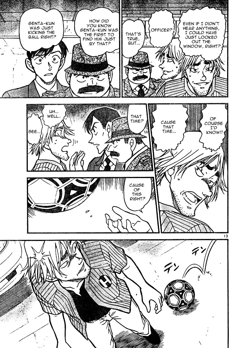 Detective Conan Chapter 569  Online Free Manga Read Image 13