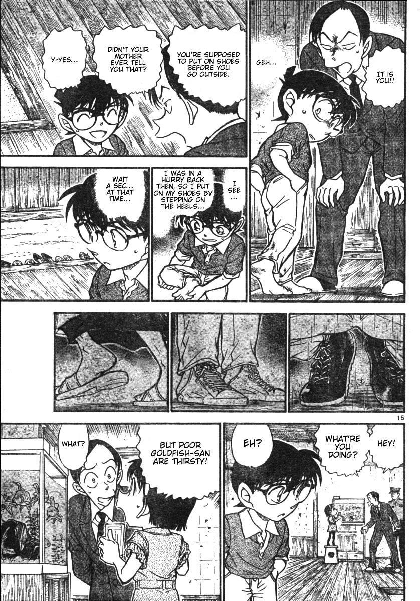 Detective Conan Chapter 580  Online Free Manga Read Image 15