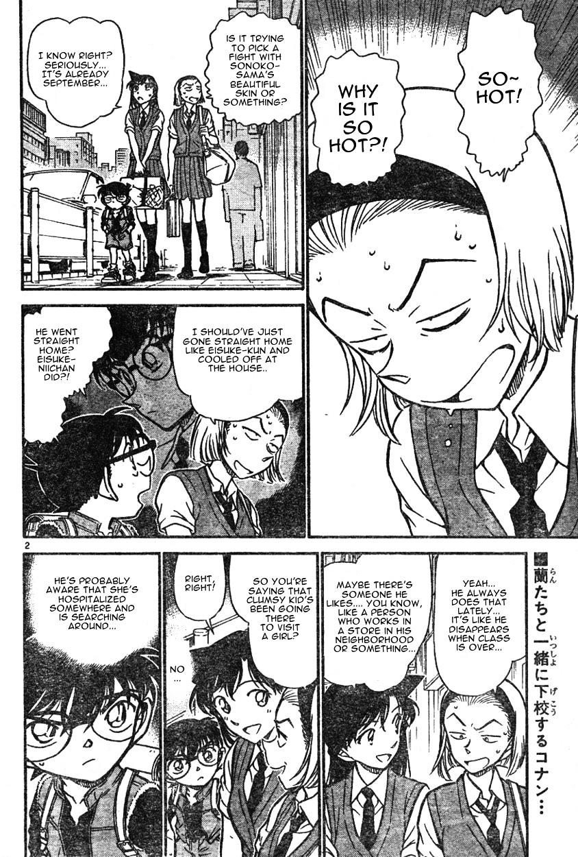 Detective Conan Chapter 582  Online Free Manga Read Image 2