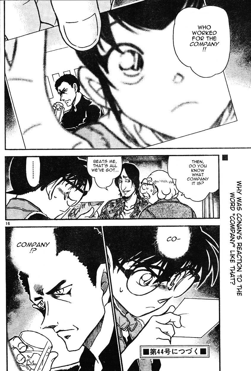 Detective Conan Chapter 584  Online Free Manga Read Image 16