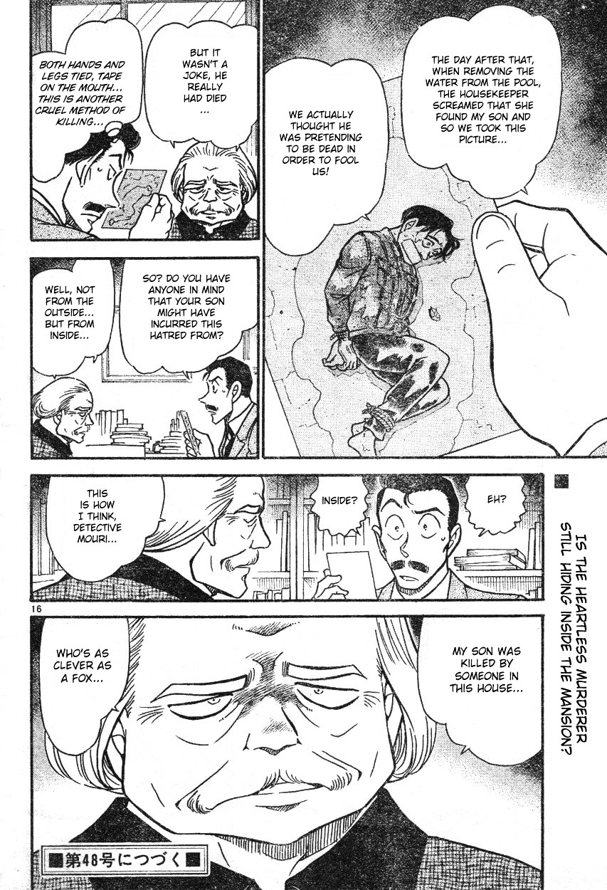 Detective Conan Chapter 587  Online Free Manga Read Image 16